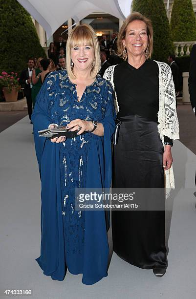 Editor in chief of BUNTE Patricia Riekel Marie Waldburg during amfAR's 22nd Cinema Against AIDS Gala Presented By Bold Films And Harry Winston at...