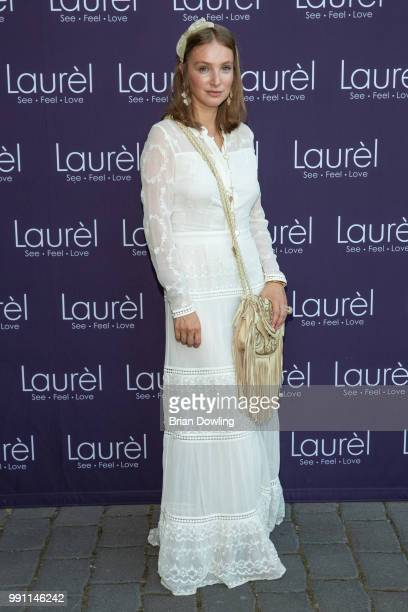 Editor in Chief of Cosmopolitan Russia Alena Peneva attends the Laurel Collection Presentation during the Berlin Fashion Week Spring/Summer 2019 at...