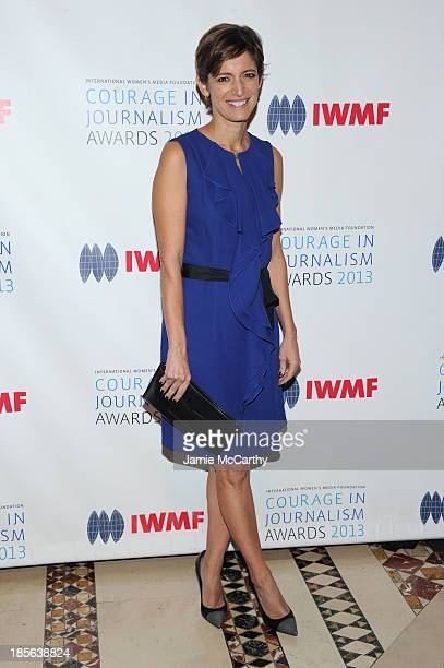 Editor in Chief of Glamour Magazine Cindi Leive attends the International Women's Media Foundation's 2013 Courage In Journalism And Lifetime...