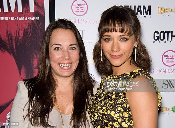 Editor in chief of Gotham Magazine Samantha Yanks and actress Rashida Jones attend the New York screening of Monogamy at the IFC Center on March 7...