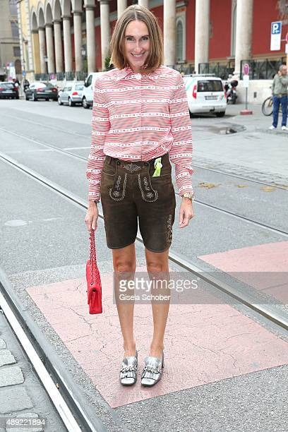 Editor in chief of Instyle Annette Weber during the 'Fruehstueck bei Tiffany' at Tiffany Store ahead of the Oktoberfest 2015 on September 19 2015 in...