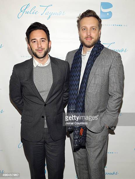 Editor in Chief of Instyle Magazine Ariel Foxman and Brandon Cardet attend the Bridges of Understanding's annual 'Building Bridges' award dinner...