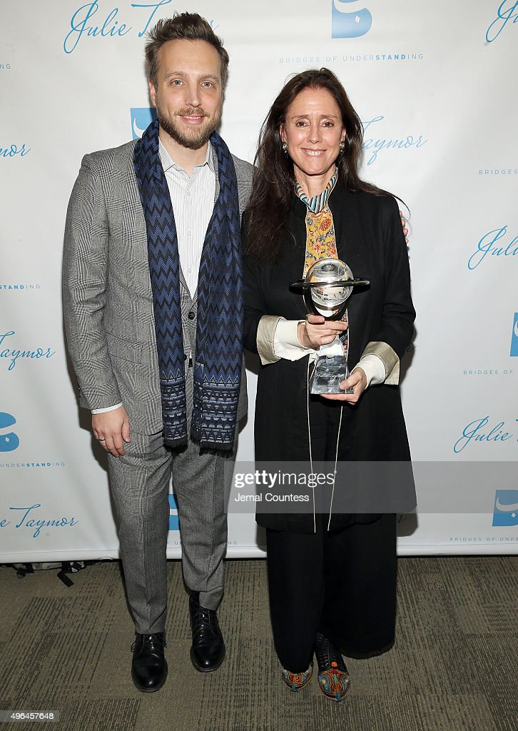 Bridges of Understanding's Annual 'Building Bridges' Award Dinner Honoring Tony Award Winning Director Julie Taymor : News Photo