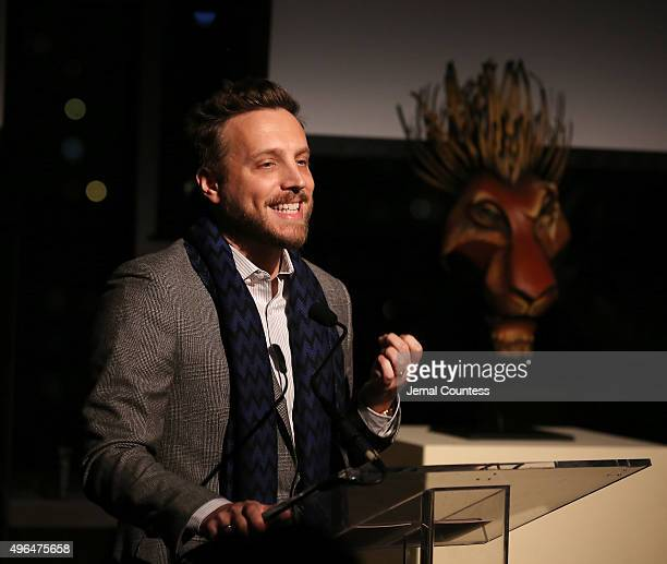 Editor in Chief of Instyle Magazine Ariel Foxman speaks at the Bridges of Understanding's Annual 'Building Bridges' Award Dinner Honoring Tony Award...