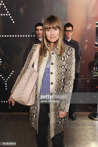 Editor in Chief of Teen Vogue Amy Astley attends Catherine Martin And Miuccia Prada Dress Gatsby Opening Cocktail on April 30 2013 in New York City