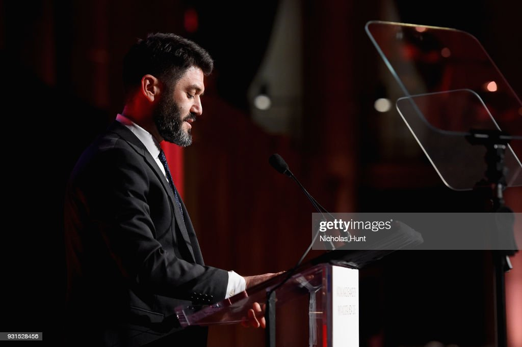 Editor in Chief of The New York Times Magazine Jake Silverstein speaks onstage during the Ellie Awards 2018 on March 13, 2018 in New York City.