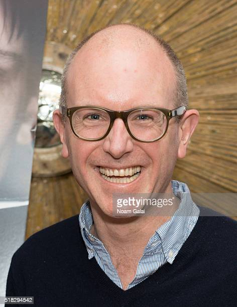Editor in Chief of The Paris Review Lorin Stein attends 'Louder Than Bombs' New York premiere at Crosby Street Hotel on March 30 2016 in New York City