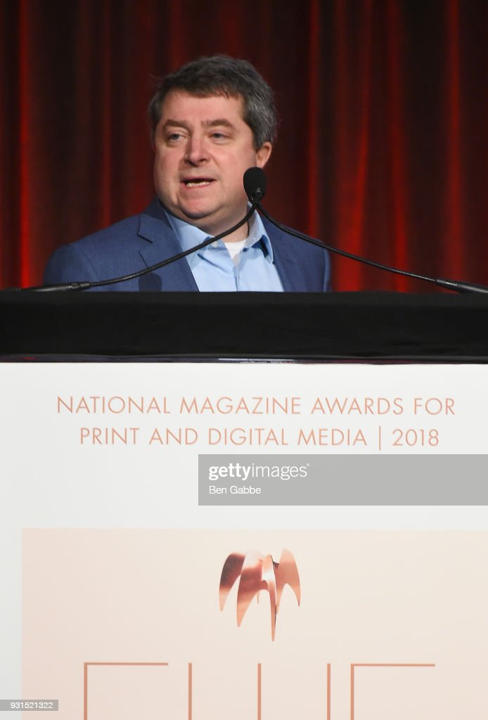 Editor in Chief of Time Magazine Edward Felsenthal attends the Ellie Awards 2018 on March 13, 2018 in New York City.