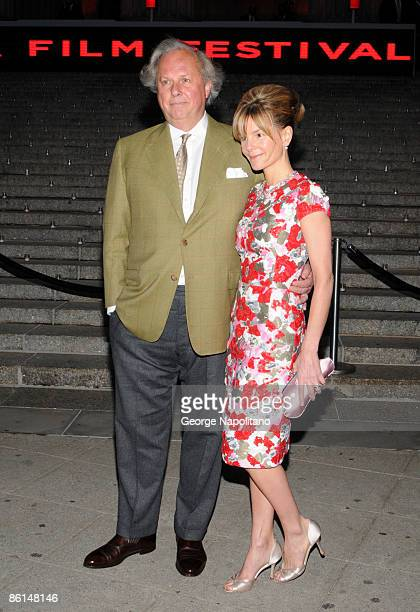 Editor in Chief of Vanity Fair Graydon Carter and Anna Scott attend the Vanity Fair Party during the 8th Annual Tribeca Film Festival at the State...