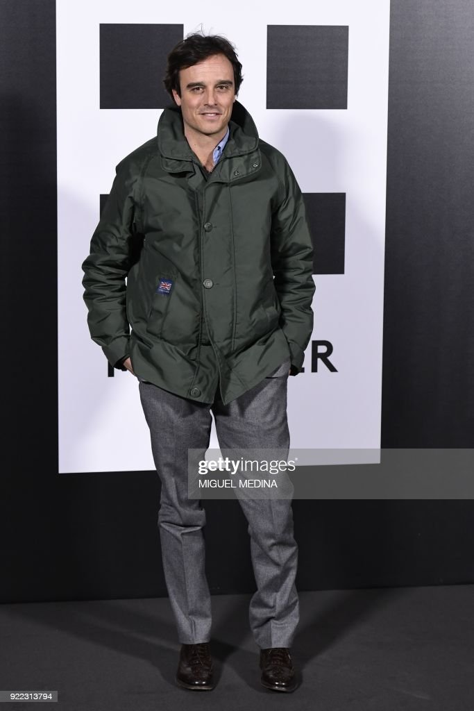 FASHION-ITALY-MONCLER-PHOTOCALL-CELEBS : News Photo