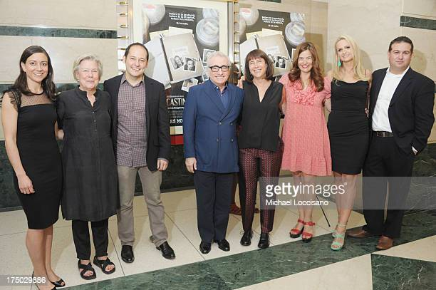 Editor Jill Donahue Casting Director Juliet Taylor Director Tom Donahue Filmmaker Martin Scorsese Casting Director Ellen Lewis and Producers Joanna...