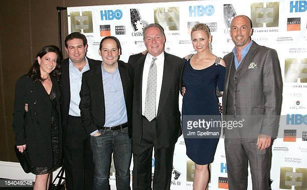 Editor Jill Schweitzer producer Ilan Arboleda director Tom Donahue Steve Edwards producer Kate Lacey Charlie Sandlan attend the Casting By after...