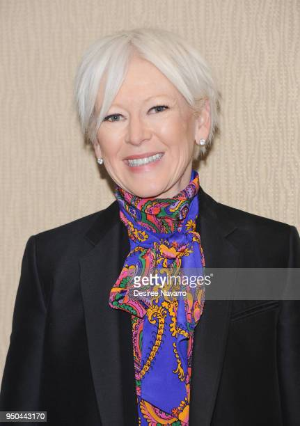 Editor Joanna Coles attends 2018 Matrix Awards at Sheraton New York Times Square on April 23 2018 in New York City