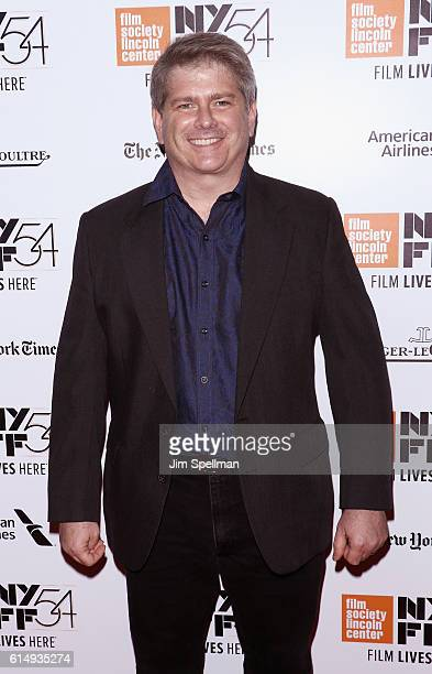 """Editor John Axelrad attends the 54th New York Film Festival closing night screening of """"The Lost City Of Z"""" at Alice Tully Hall, Lincoln Center on..."""