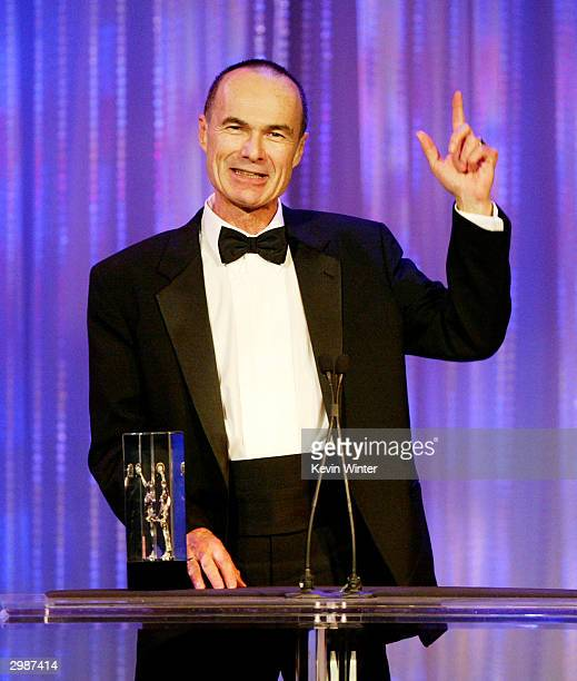 Editor John Martinelli receives the Career Achievement Award at the American Cinema Editors' 54th Annual ACE Eddie Awards at the Beverly Hilton Hotel...