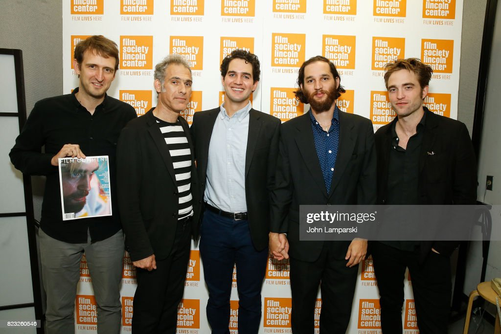 Editor Nicholas Rapold, Ronnie Bronstein, Benny Safdie, Josh Safdie and Robert Pattison attend Film Society of Lincoln Center presents 'Good Time' at Walter Reade Theater on July 26, 2017 in New York City.