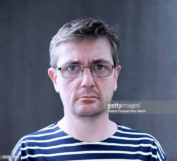 Editor of Charlie Hebdo, Stephane Charbonnier is photographed on October 19, 2012 in Paris, France.
