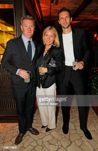 Editor of Esquire Alex Bilmes Isabel May and Jonathan Heaf attend the LOVE YouTube LFW party supported by PerrietJouet and hosted by Katie Grand...
