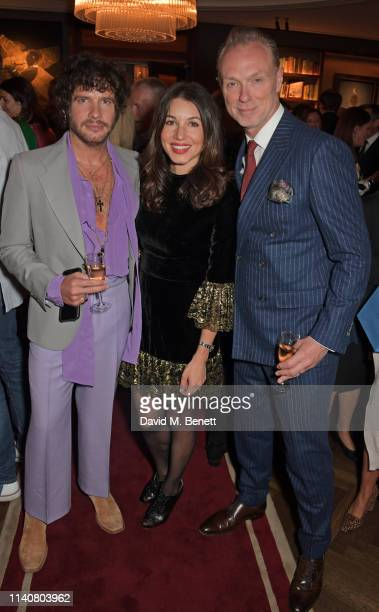 Editor of GQ Style Luke Day Lauren Kemp and Gary Kemp attend a private dinner to celebrate Dylan Jones' 20th anniversary as EditorInChief of British...