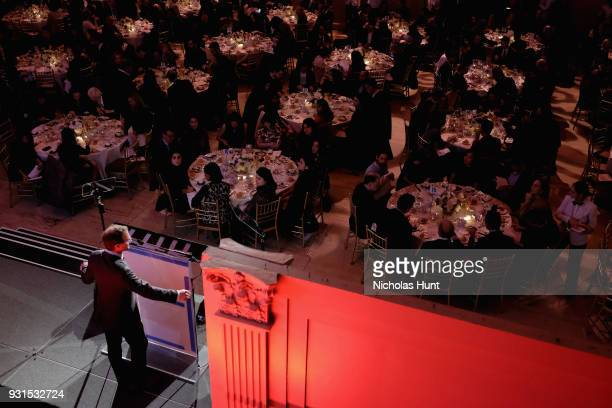 Editor of Outside Magazine Chris Keyes speaks onstage during the Ellie Awards 2018 on March 13 2018 in New York City