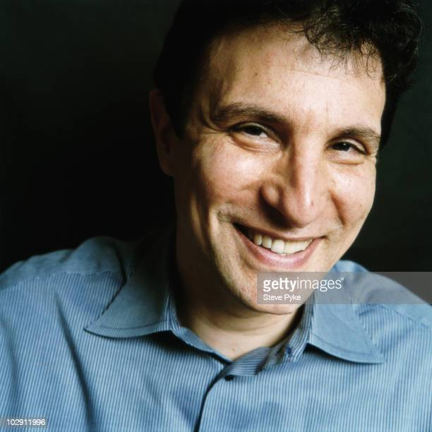 Editor of The New Yoker David Remnick poses for a portrait shoot in New York USA