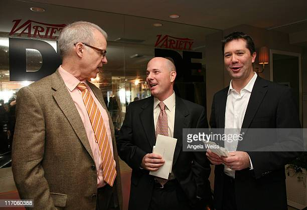 Editor of Variety Tim Gray managing director and group head of Entertainment Industries Group David Shaheen and president and chief operating officer...