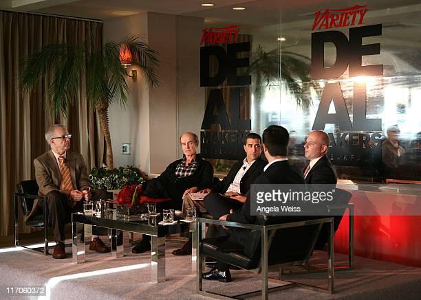 Editor of Variety Tim Gray partner of Ziffren Brittenham LLP Skip Brittenham president of business affairs and administration of Columbia Pictures...