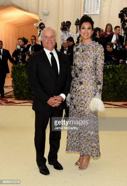 Editor Radhika Jones attends the Heavenly Bodies Fashion The Catholic Imagination Costume Institute Gala at The Metropolitan Museum of Art on May 7...