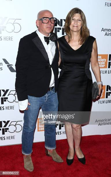 Editor Sandra Adair and guest attend the 55th New York Film Festival opening night premiere of 'Last Flag Flying' at Alice Tully Hall Lincoln Center...