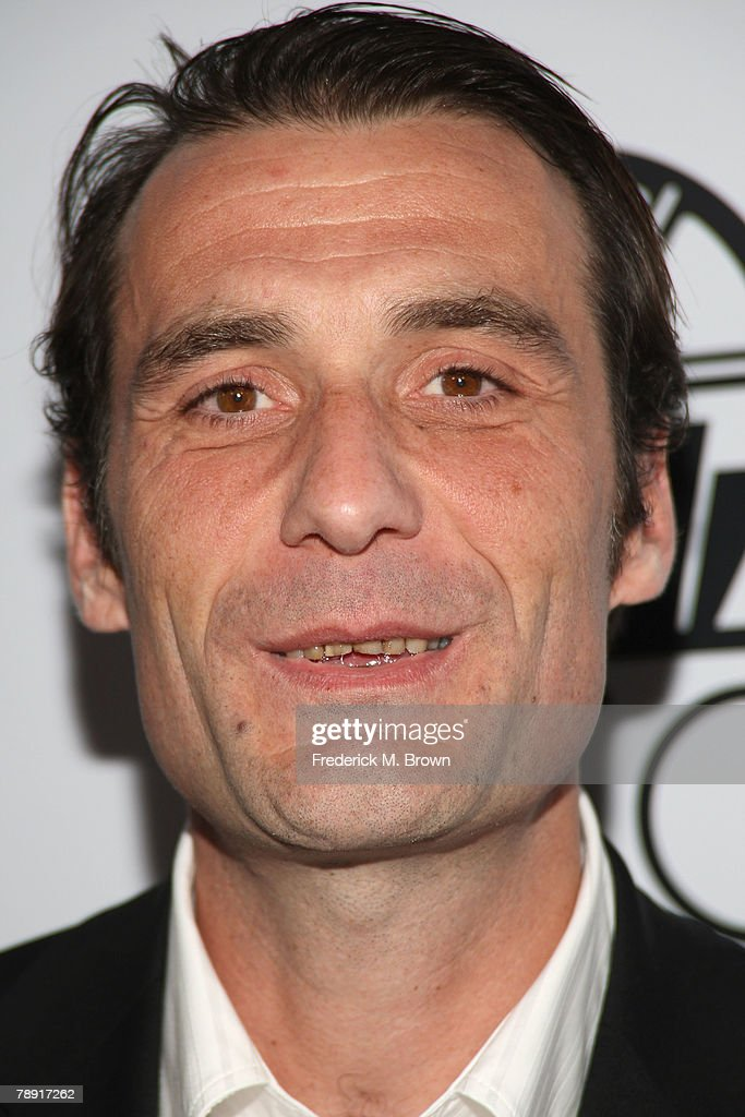 Editor Stephane Roche arrives at the 2007 LA Film Critic's Choice Awards held at the InterContinental on January 12, 2008 in Los Angeles, California.