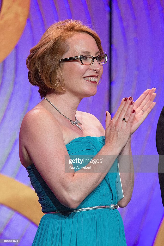 Editor Susan Vaill presents the nominees for Best Edited One-Hour Series for Commercia Television during the 63rd Annual ACE Eddie Awards held at The Beverly Hilton Hotel on February 16, 2013 in Beverly Hills, California.