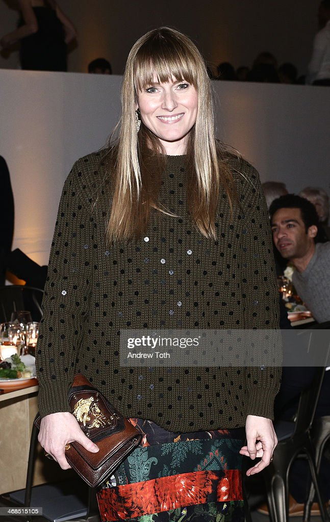 Editor Teen Vogue Amy Astley attends the dinner to celebrate the Brothers, Sisters, Sons And Daughters Spring 2014 campaign launch on February 10, 2014 in New York City.