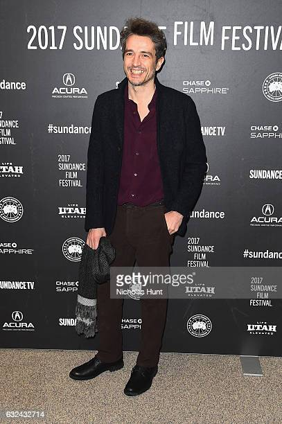 Editor Walter Fasano attends the 'Call Me By Your Name' Premiere on day 4 of the 2017 Sundance Film Festival at Eccles Center Theatre on January 22...