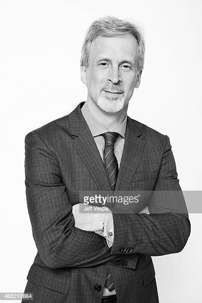 Editor William Goldenberg poses for a portraits at the 87th Academy Awards Nominee Luncheon at the Beverly Hilton Hotel on February 2 2015 in Beverly...