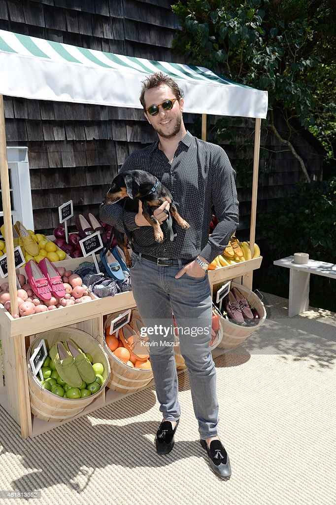 Editor-at-Large of HarperÕs Bazaar and Vmagazine and VMAN Derek Blasberg attends Alessandra Facchinetti and Jessica Seinfeld's Baby Buggy Summer Luncheon sponsored by Tod's on July 24, 2015 in East Hampton, New York.