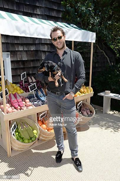 EditoratLarge of HarperÕs Bazaar and Vmagazine and VMAN Derek Blasberg attends Alessandra Facchinetti and Jessica Seinfeld's Baby Buggy Summer...