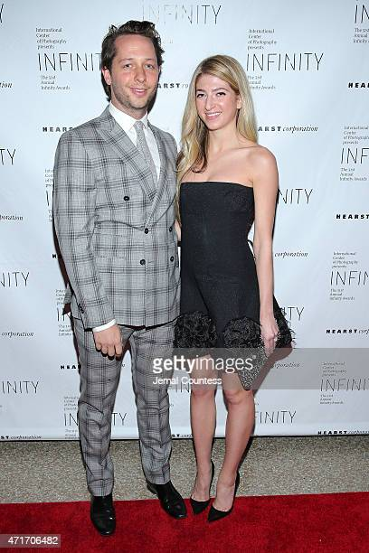 EditoratLarge of Harper's Bazaar Derek Blasberg and art dealer Sarah Hoover attend the International Center of Photography 31st annual Infinity...