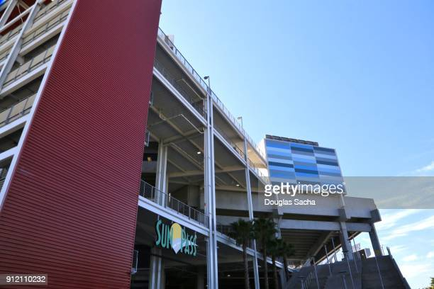 editorial - 2018 nfl probowl game at the orlando camping world stadium - special:whatlinkshere/file:lucerne_circle,_orlando,_fl.jpg stock pictures, royalty-free photos & images