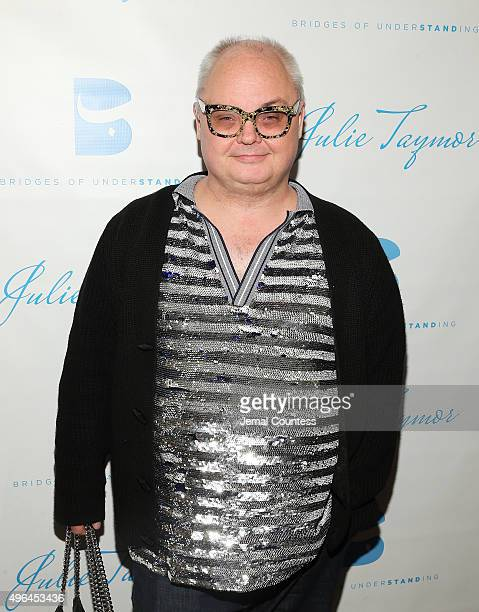 Editorial Director of Paper Magazine Mickey Boardman attends the Bridges of Understanding's Annual 'Building Bridges' Award Dinner Honoring Tony...