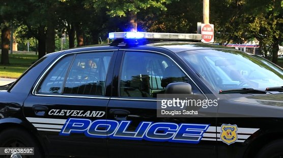 Full frame of a police car with flashing lights stock photo keywords aloadofball Images