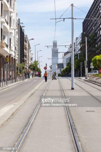 Editorial Use - Street Scene, Morocco