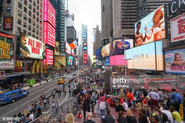 'editorial use' times square new york - times square manhattan bildbanksfoton och bilder