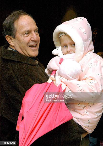 Editorinchief and Publisher of US News and World Report Mort Zuckerman and daughter