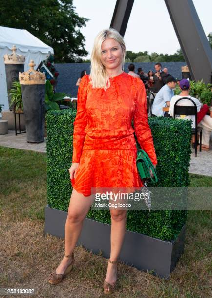 Editor-in-Chief Anetta Nowosielka attends the Hamptons Magazine x The Chainsmokers VIP Dinner at The Barn at Nova's Ark on July 25, 2020 in...