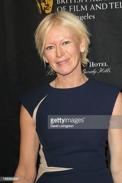 EditorinChief Cosmopolitan Magazine Joanna Coles arrives at the BAFTA Los Angeles 2013 Awards Season Tea Party held at the Four Seasons Hotel Los...