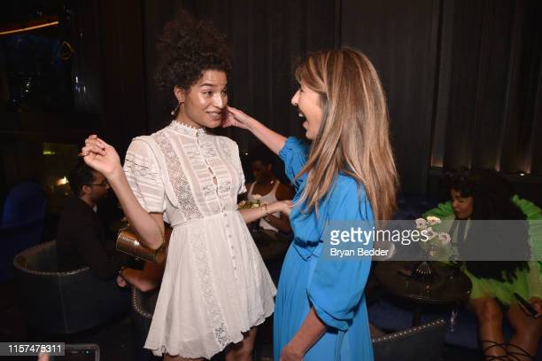 Editor-in-chief, Elle Nina Garcia and Indya Moore attend as ELLE & Louis Vuitton celebrate ELLE cover star Indya Moore at Diego at PUBLIC on June 21,...