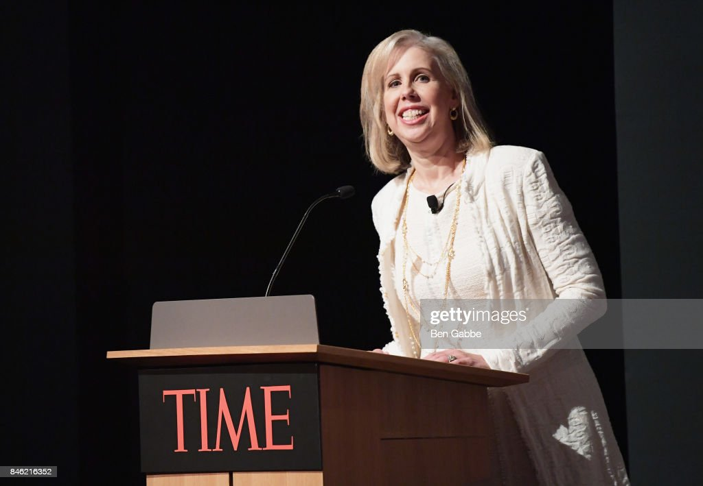 Editor-in-Chief for Time Magazine Nancy Gibbs speaks onstage during TIME Celebrates FIRSTS on September 12, 2017 in New York City.