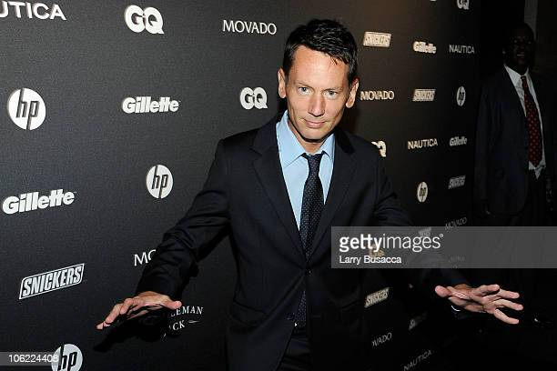 EditorinChief Jim Nelson attends GQ's The Gentlemen's Ball at The Edison Ballroom on October 27 2010 in New York City