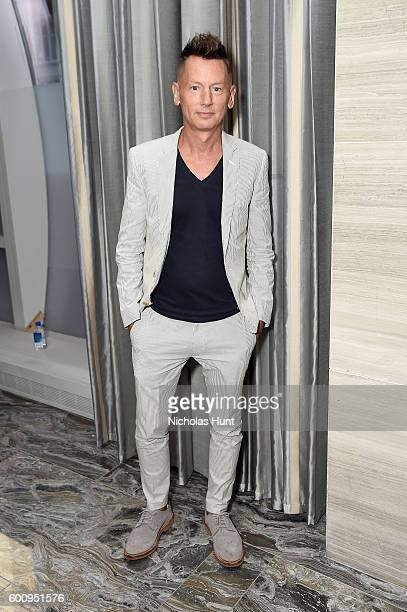 GQ editorinchief Jim Nelson attends The Daily Front Row's 4th Annual Fashion Media Awards at Park Hyatt New York on September 8 2016 in New York City
