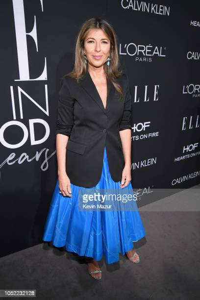 EditorinChief Nina Garcia attends ELLE's 25th Annual Women In Hollywood Celebration presented by L'Oreal Paris Hearts On Fire and CALVIN KLEIN at...